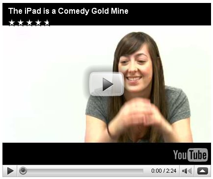 apple ipad hype comedy