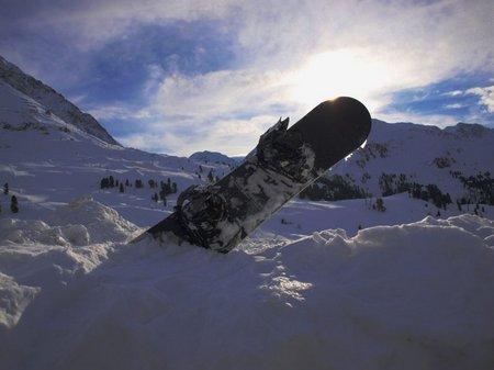 snowboard fahren ötztal hoch oetz