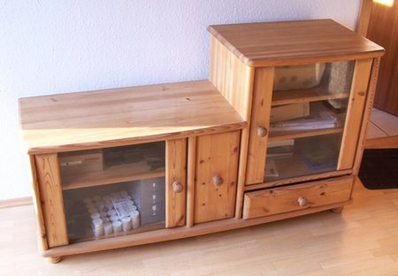 phonoschrank rack hifi tv