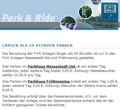 wo kann man günstig parken in münchen