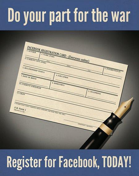 facebook propaganda plakat poster